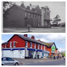 Leyland - then and now
