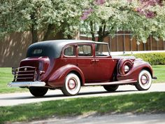 1938 Packard Twelve All-Weather Town Car by Rollston (1608-495)