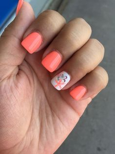 Pin by Kim McIntosh on Nails Nails, Fish nails, Beach nails nail ideas beach - Nail Ideas Beach Nail Designs, Short Nail Designs, Nail Designs Spring, Cute Nail Designs, Nautical Nail Designs, Beach Nail Art, Beach Toe Nails, Nail Designs Summer Easy, Coral Nail Designs