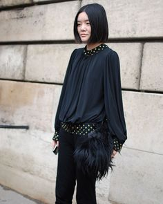 french street style | ... c4 - Street Chic - Paris Fashion Week - Discover More Fashion - ELLE