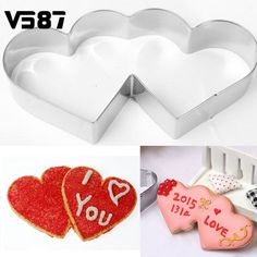 Cheap tool mask, Buy Quality tool shaped cookie cutters directly from China cutter disc Suppliers: DIY Mold Stainless Steel Novelty Double Heart Cookie Cutter Sweet Love Cake Pastry Kitchen Baking Tools
