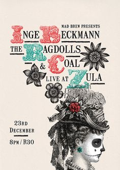 The Ragdolls and Coal: Poster by Adam the Velcro Suit