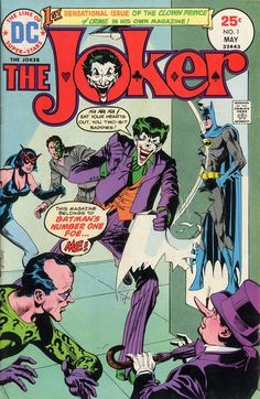The Joker #1 (1975 series) - cover by Dick Giordano