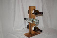 Rustic Wine Rack Reclaimed Wood Wine Rack by GangerWoodworks