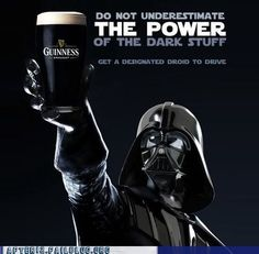 If you only knew the power of the dark side...