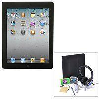 Apple iPad 3rd Generation Wi-Fi Bundle w/ Folio Case, Dock, Headphones, Stylus & Car Charger ShopNBC.com