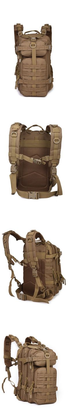 Day Packs 87122: Military Tactical Assault Pack Backpack Army Molle Waterproof Out Bag Backpack -> BUY IT NOW ONLY: $34.21 on eBay!