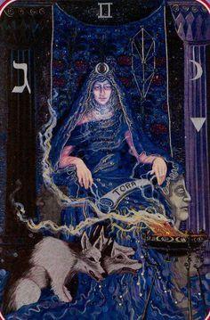 The High Priestess - Spiral Tarot