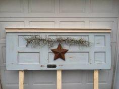 Upcycled Door Headboard