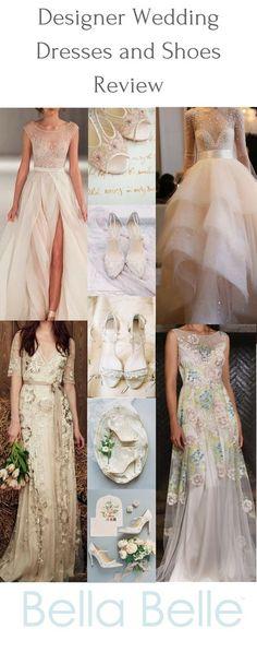 Designer Wedding Dresses and Shoes Review