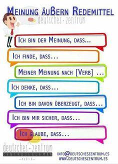 Duits - Deutsch - mening - Meinung- https://s-media-cache-ak0.pinimg.com/originals/a1/6d/6e/a16d6efdb5ec363ba7cb502ea51a8b17.jpg