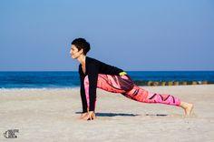 Beach Yoga with Holistic Yoga Berlin at Miedzywodzie Beach