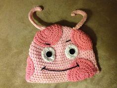 Crochet Backyardigans Uniqua Inspired Hat by fuzzymonsterknits, $25.00
