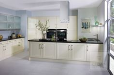awesome 67 Modern Cream Painted Kitchen Cabinets Ideas