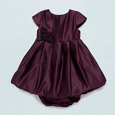 Baker by Ted Baker Baby's dark purple puffball dress - Party - Girls dresses - Kids - Debenhams Mobile