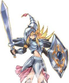 Dark Magician Girl the Dragon Knight DMGDK by goku162008.deviantart.com on @deviantART