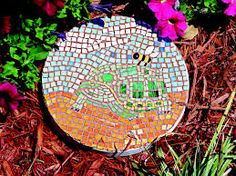 Stepping stone designs templates detroit tiger d stepping stepping stone designs templates detroit tiger d stepping stone used a standard mold kit from a garden decorations pinterest craft pronofoot35fo Images