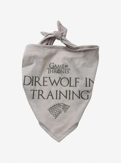 Game of Thrones w//Crest-Black B//G Tote Bag-Machine Quilted