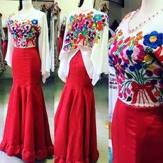 vestidos mexicanos de fiesta - Buscar con Google Mexican Fashion, Mexican Outfit, Mexican Dresses, 15 Dresses, Evening Dresses, Casual Dresses, Formal Dresses, Curve Dresses, I Dress