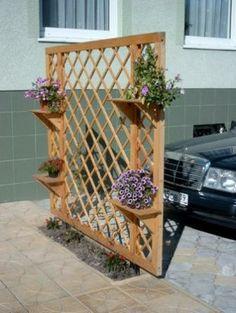 Деревянные кашпо, экраны для растений !