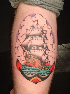 ship #tattoo