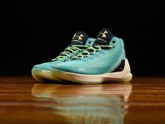 Men's Under Armour Curry 3 'Reign Water' [1269279-370] | Under Armour | Renarts