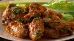 Thai Chicken Wings - divinely seasoned with just the right amount of kick!