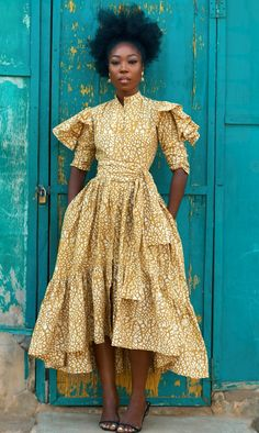 African Print Fashion, African Fashion Dresses, Fashion Prints, Ankara Fashion, Africa Fashion, African Prints, African Fabric, Tribal Fashion, African Outfits