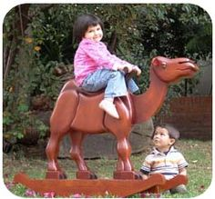 if i'd only had this as a child...  -- Lawrence the Camel, Woodworking Plans and Patterns by WoodcraftPlans.com