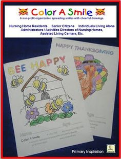 Awesome and easy service project for your class! No collecting, just coloring!
