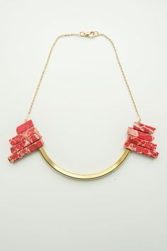 Variscite Necklace, Gemstone Necklace, Statement Necklace, Boho Necklace, Tribal Necklace, Layering Necklace, Layer Necklace,