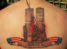9-11/Never Forget Tattoo