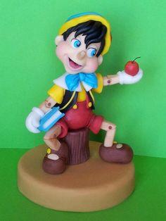 Pinocchio #cake topper