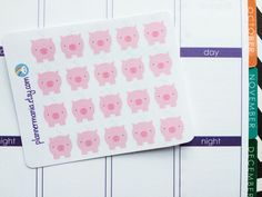 061 Piggy Bank Planner Stickers, Filofax Stickers, Erin Condren Stickers, Money Stickers, ECLP Savings Stickers, Cute Filofax Stickers by PlannerMania on Etsy https://www.etsy.com/listing/232045045/061-piggy-bank-planner-stickers-filofax