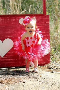 Valentine Tutu Valentine's Day Valentine by willowlaneboutiques