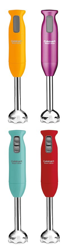 Stick Mixer / Hand Blender // love the colors!