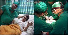 Extraen raro tumor de corazón a una mujer en el Cardiocentro de Santiago de Cuba #DeCubayloscubanos #cardiocentro #corazón #operación