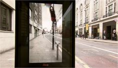March 2014. Pepsi Max surprised commuters with an AR installation at a bus shelter in London. The innovation consists of a special, real-time display located on the exterior face of the bus shelter wall. The display visualises a realistic, augmented stream of exaggerated. From a giant robot crashing through the road's brickwork to a passerby being abducted by flying saucers, the interactive experience creates unusual scenarios on the street, engaging the public for a publicity stunt.