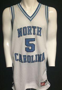Vintage North Carolina Tar Heels Nike X-Large Basketball Jersey XL #Nike #NorthCarolinaTarHeels