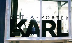Karl Lagerfeld for NET-A-PORTER in New York City