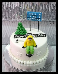 cake ski theme - Google Search