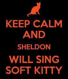 Keep calm - soft kitty