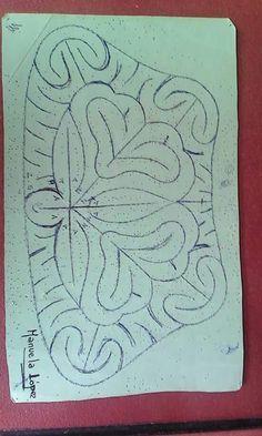 Picado para bolso. Autora Manuela López
