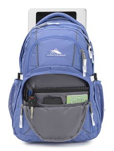 e14be0c9b0120 High Sierra Swerve Laptop Backpack Lapis White   Read more at the image  link. (Note Amazon affiliate link)