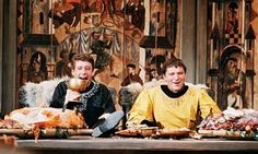 Peter O'Toole and Richard Burton in Becket, 1964