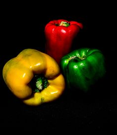 Floating peppers