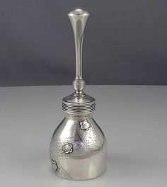 Gorham sterling silver aesthetic table bell c1890 (Britannia Silver)