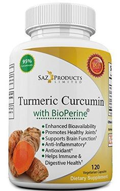Saz Products Turmeric Curcumin with Bioperine and 95% Curcuminoids  #kneerecovery #kneesurgery #kneesupport #knee #kneesurgeryrecovery
