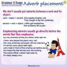Adverb placement