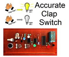Hello Friends,Here is a clap switch. You can turn any home appliance on/off with a clap. I personally designed the circuit for better accuracy and customized filtration. You can see the working of the switch in the video attached.I hope you will enjoy building this project.